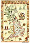 Hysterical Mappe of Britain (in a square tube)
